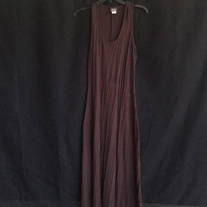 Brown dress size M